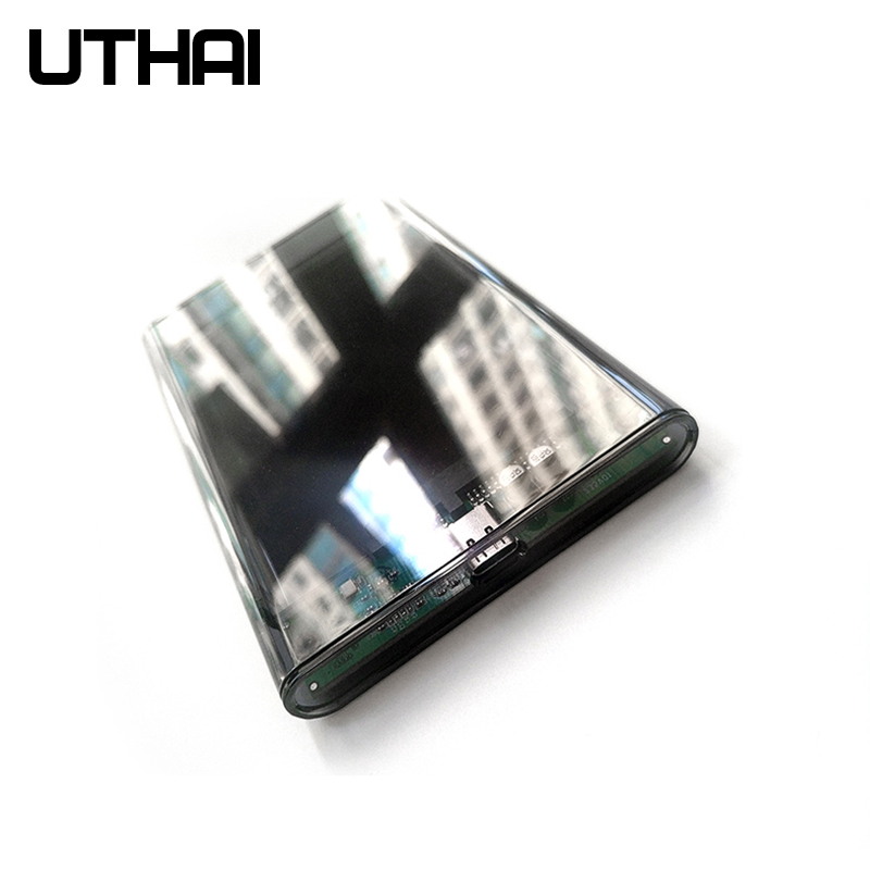"""UTHAI G25 USB3.0/Type-C HDD Enclosure of 2.5"""" Hard Disk Case SSD SATA3 to USB 3.0/2.0 Box USB C HDD Case Gen2 6GBp/s SSD 4"""