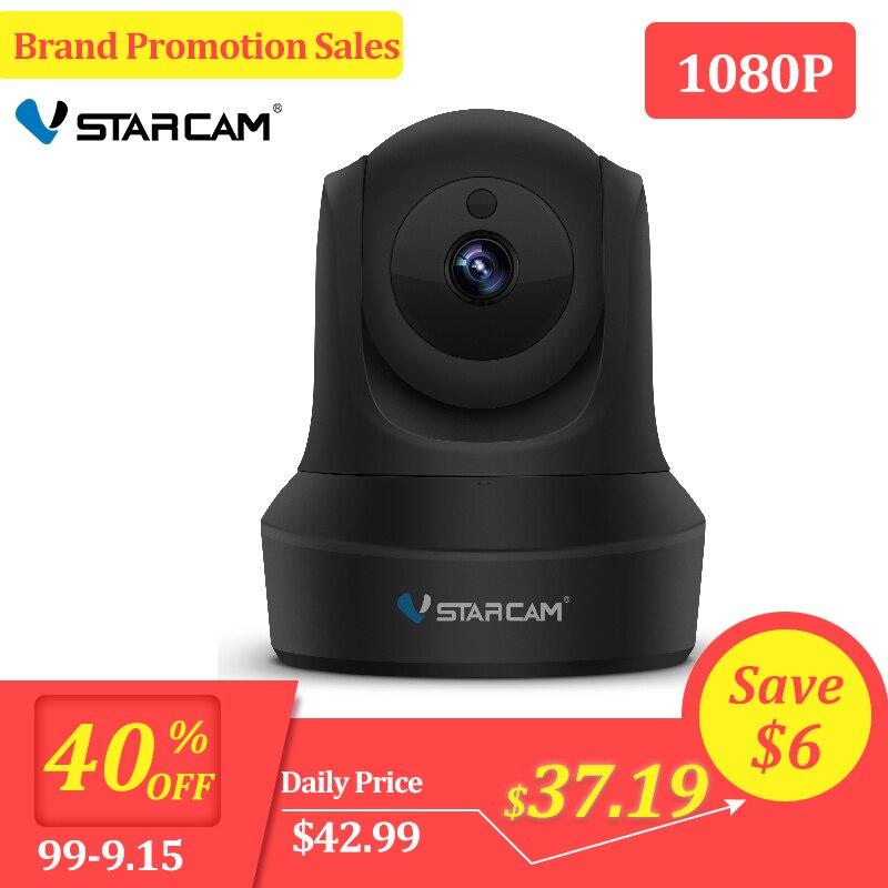 C29S Vstarcam 1080P HD WIFI IP Câmera Night Vision Câmera De Segurança Sem Fio em casa P2P Interior IR PTZ IP cam camara Áudio ONVIF