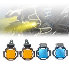 Đèn 4 Màu Xe Máy Sương Mù Che Bảo Vệ Ống Kính Bảo Vệ Trang Trí Khung Cho Xe BMW R1200GS R1250GS F850GS ADV F750GS f900