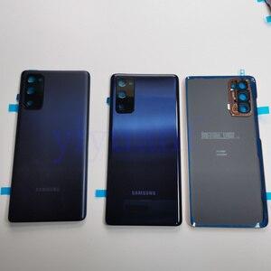 Image 4 - Hàng Chính Hãng Samsung Galaxy S20 FE 5G Pin Nhựa Nhà Ở Mặt Sau Ốp Lưng Thay Thế Cửa Hầm Đạn Phía Sau Keo Dán S20FE 4G