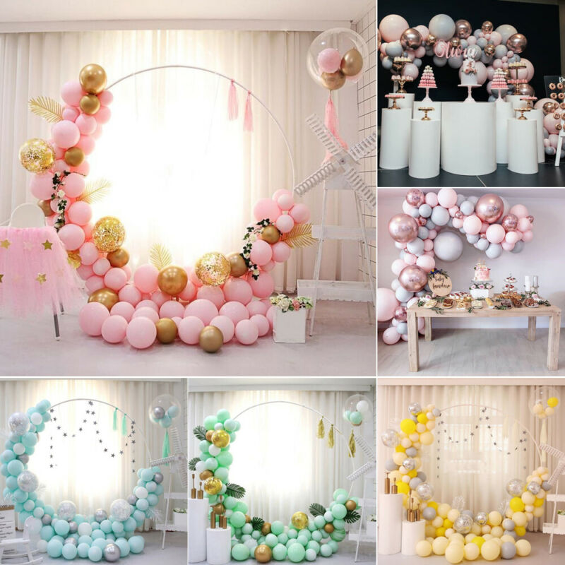 Macaron Pastel Latex Balloon Bulk Arch Baby Shower Birthday Party Wedding Decor