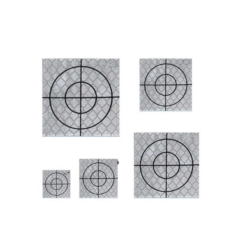 100pcs Reflector Sheet Reflective Tape Target Total Station 20/30/40/50/60mm