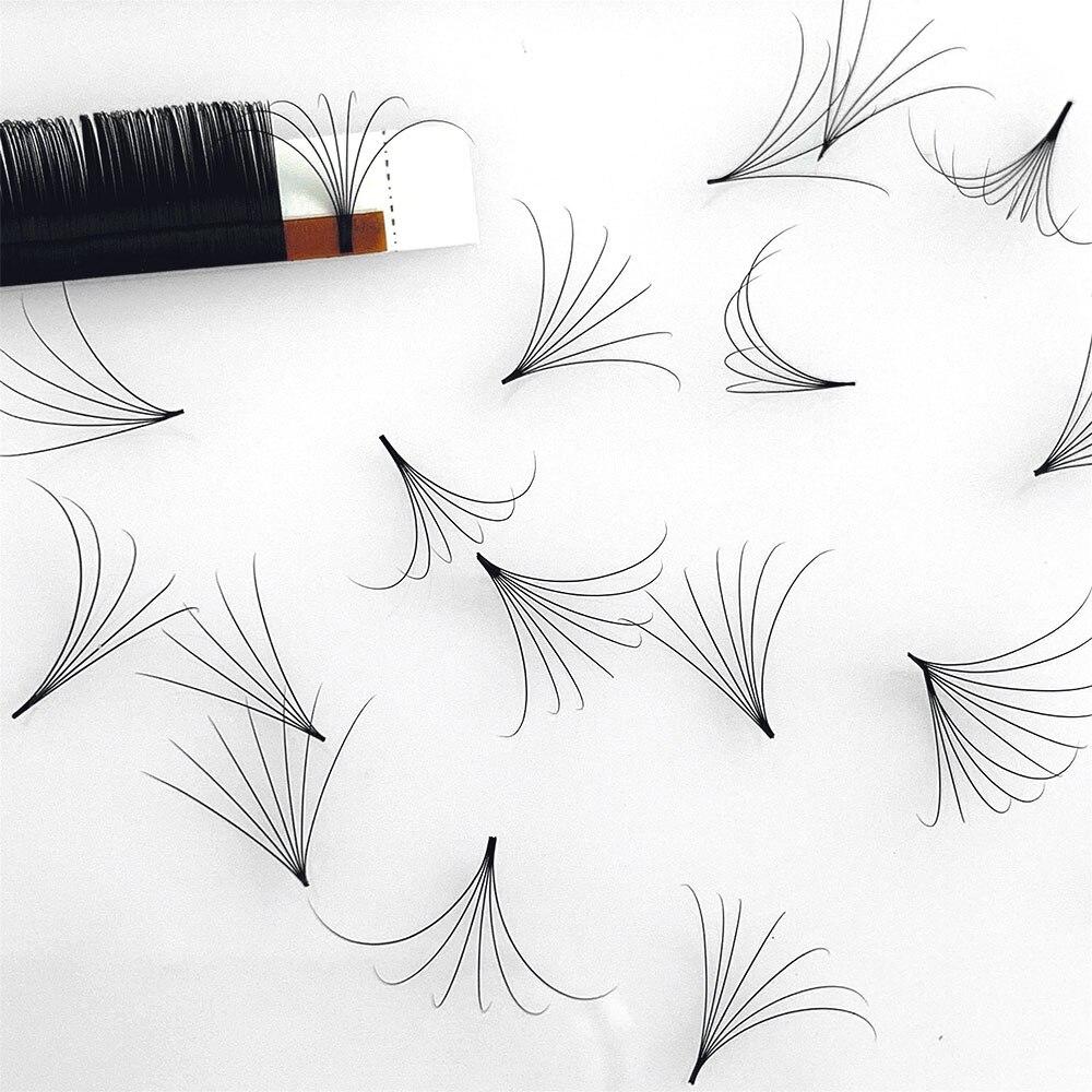 Цветущие ресницы Abonnie Easy Fan 1s, цветущие норковые Индивидуальные Профессиональные ресницы, матовые черные мягкие ресницы для наращивания