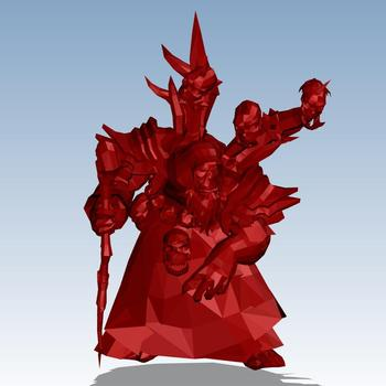 World of Warcraft Guldan Custom order highqualityhighprecision digital models 3D printing service Funny Toys ST6067