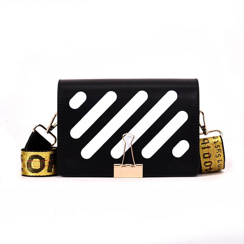 Популярная стильная сумка через плечо Off Ins, летняя женская цветная сумка-мессенджер через плечо, маленькая корейская модная квадратная мин...