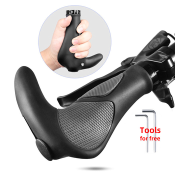 Bicycle Silicone Handlebar Grips TPR Integrated Rubber handle MTB Cycling Hand Rest Mountain Bike Grip Grippings BMX Grips bikein cycling mountain bike soft silicone grips road bicycle absorption handlebar ends bmx multi colors grip mtb accessories