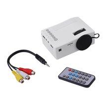 UC18 HD 1080P TFT LCD Compact Siz eHome Mini HD Projector TV Multi-Media Player