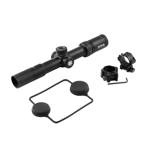spina tactical borda fina riflescope 1 6x28 vistas