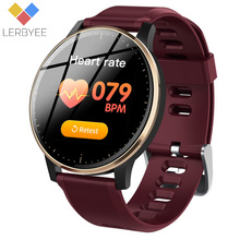 Lerbyee Fitness Tracker Q20 HR Blood Pressure IP67 Smart Bracelet Sleep Monitor Music Control Smart Band for iOS Android