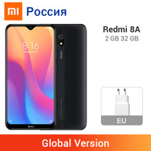 "Global Version Xiaomi Redmi 8A 8 2GB RAM 32GB ROM สมาร์ทโฟน Snapdargon 439 OCTA Core 5000mAh 6.22 ""Full Screen 12MP Type-C(China)"