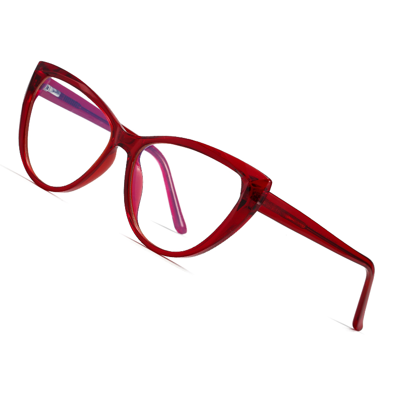 AOFLY BRAND DESIGN 2020 New Anti Blue Light Glasses Female Cat Eye Optics Frame Clear Computer Gaming Eyewear Female UV400