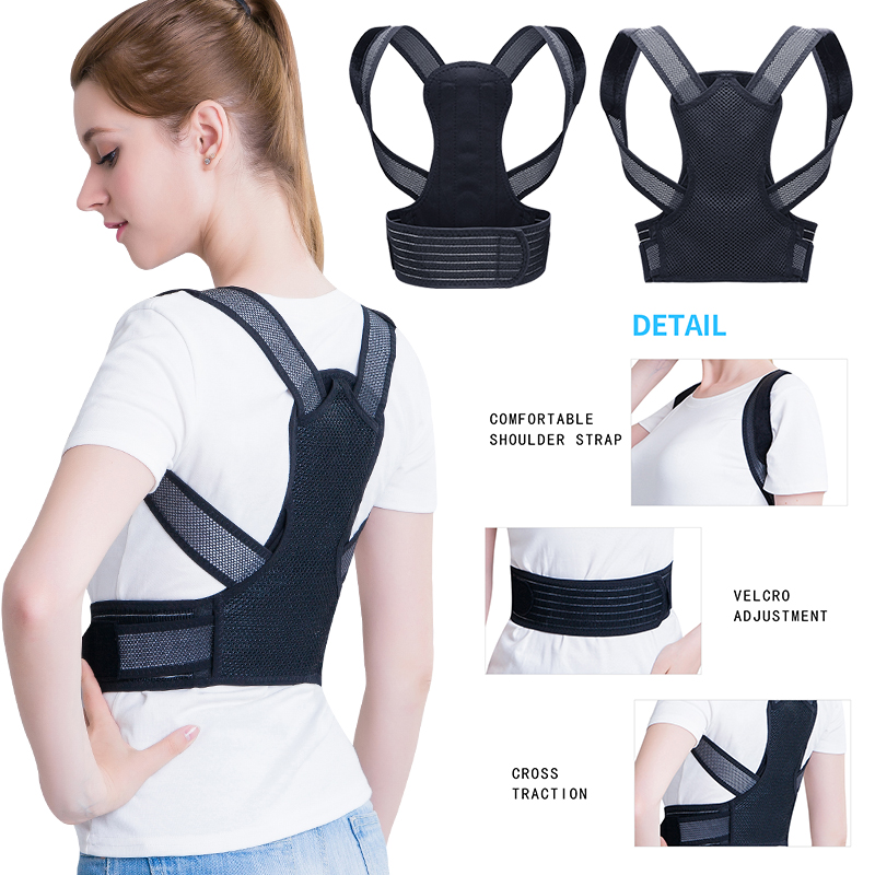 Comfort Posture Corrector Back Support Brace Improve Posture and Provide Lumbar Support For Lower and Upper Back Pain