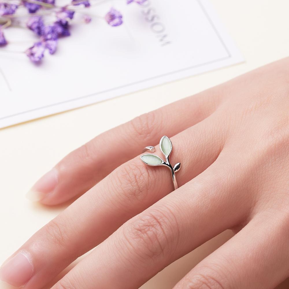 1PC Romantische Nette Katze Hohle Meerjungfrau Herz Strass Imitation Perle Öffnung Metall Ring Hochzeit Engagement Geschenk Für Freundin