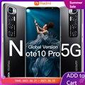 Note10 Pro смартфон 6,1 дюймов 5G 6 ГБ + 128 Гб 4800 мАч открытые мобильные телефоны Android телефонов Celulares глобальная версия сотовый телефон