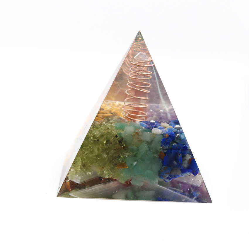 Lapislazuli Orgonite Pyramide Kristall Energie Generator Emf Schutz Reiki