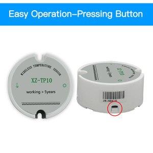 Image 3 - Sensore di Temperatura Senza Fili Trasmettitore di Temperatura Data Logger Senza Fili a Distanza di Controllo Della Temperatura per Il Congelatore 433/868/915Mhz