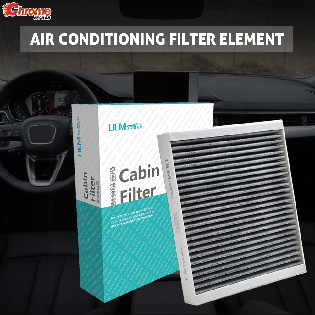 2x Car Accessories Pollen Cabin Air Conditioning Filter Includes Activated Carbon 80292-TF0-G01 80291-TF3-E01 For City Civic X CR-Z Fit 3 4 HR-V Insight 2010 2011 2012 2013