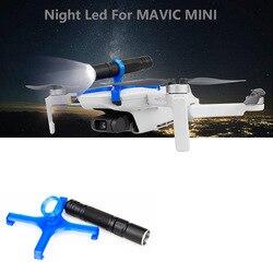 DJI Mavic MINI Drone nocny led światła noc lot reflektor latarka dla DJI Mavic MINI akcesoria do dronów w Zestawy akcesoriów do dronów od Elektronika użytkowa na
