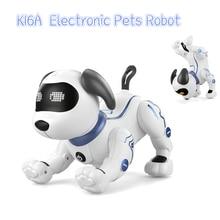 LE NENG TOYS K16A Электронные Животные животные робот собака RC трюк собака Голосовая команда программируемая музыкальная песня игрушка для детей игрушки подарок