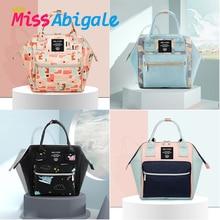MissAbigale мини-сумка для младенцев, сумка для подгузников для мам, сумка для подгузников, Большой Вместительный Детский рюкзак, сумка для кормления, сумка для ухода за ребенком, сумка для подгузников