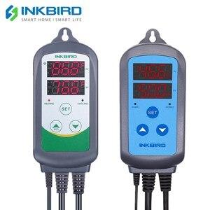 ITC-308 WIFI нагрев охлаждения цифровой регулятор температуры + IHC-200 контроллер влажности для домашнего пивоварения аквариума Увлажнитель