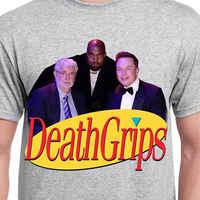 Seinfeld death grips T Shirt Sport szary bawełna mężczyźni US dostawca fajne Casual duma t shirt mężczyźni Unisex modna koszulka