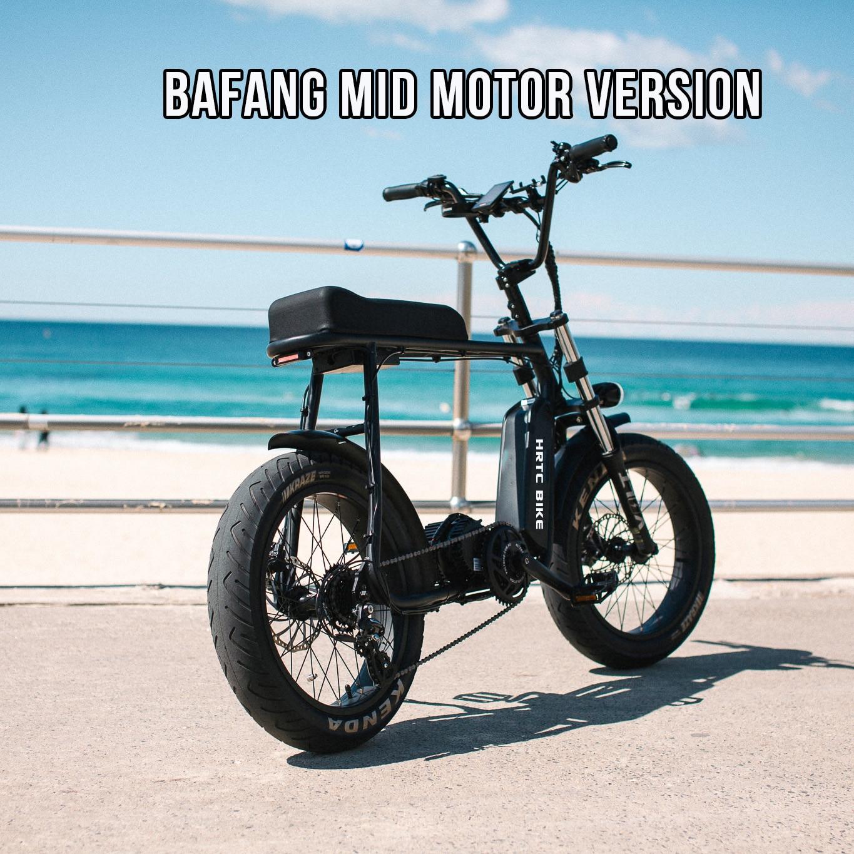 ATV 20 cal tłuszczu ebike 48 V 750 w silnikiem Bafang Super moc elektryczny Ebike Retro Design 7 prędkości śniegu/ plaża ebike
