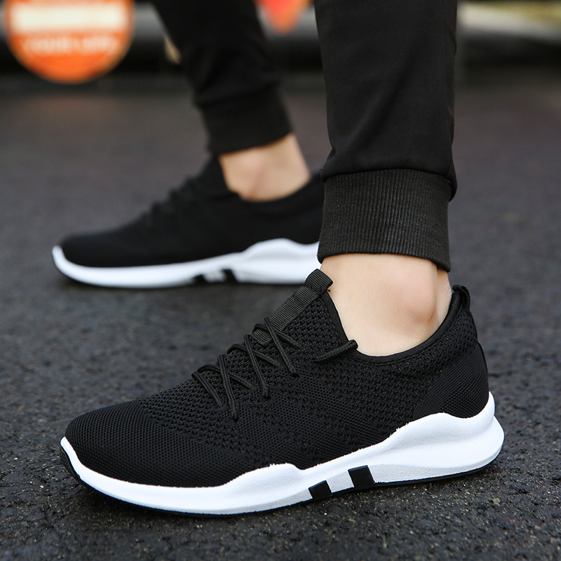 Men's Running Shoes Breathable Tide Sneakers Lace-up Casual Sports Shoes Zoom Air Maxs Women Running Shoes
