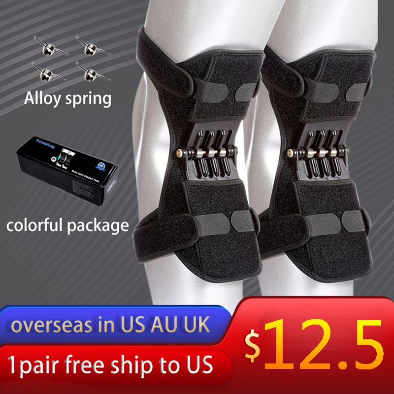 Joint Support Knee Pads Rebound Powerleg knee booster brace support ortofit stabilizer joelheira Power Lift
