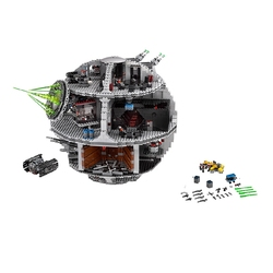 81098 05063 USC Super Death Star Destroyer Wars statek klocki klocki siła 76042 10030 75252 Waken King Lepining zestaw zabawek