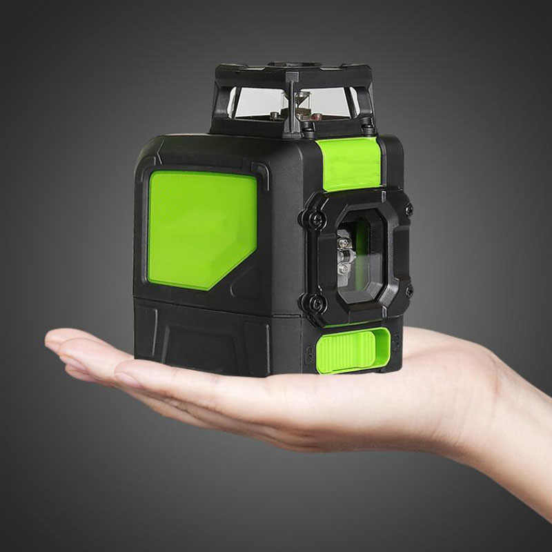 5-Line Laser Level Self-Balancing 360 Degree Horizontal And Vertical Cross Line Laser Level Infrared Waterproof Line Projector