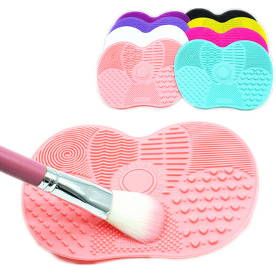 Makeup Brush Cleaner Silicone Mat Make Up Brushes Washing Gel Board Cleaning Pad Cosmetic Cleaner Scrubber Tools