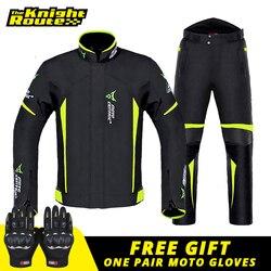 MOTOCENTRIC Motorcycle Jacket Man Winter Waterproof Motorbike Suit Riding Protective Equipment Windproof Jacket Moto Clothing
