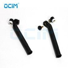 Cabezal de soldadura Tig negro, cuello giratorio, refrigerado por aire, para antorcha WP9