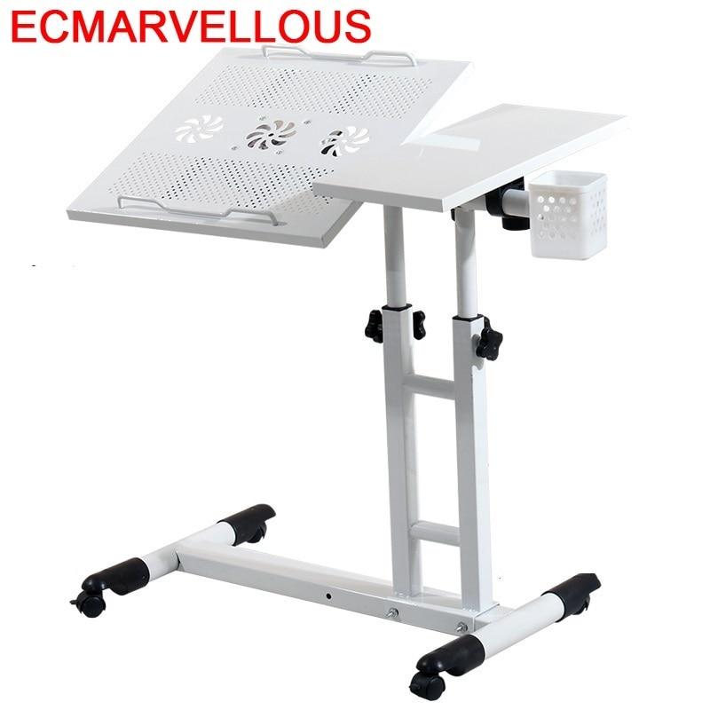 Mueble Tafelkleed Small Office Furniture Bureau Meuble Mesa Dobravel Adjustable Bedside Tablo Laptop Study Table Computer Desk