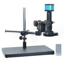 Электронный микроскоп HD цифровой микроскоп промышленный микроскоп HDMI+ 180 раз объектив