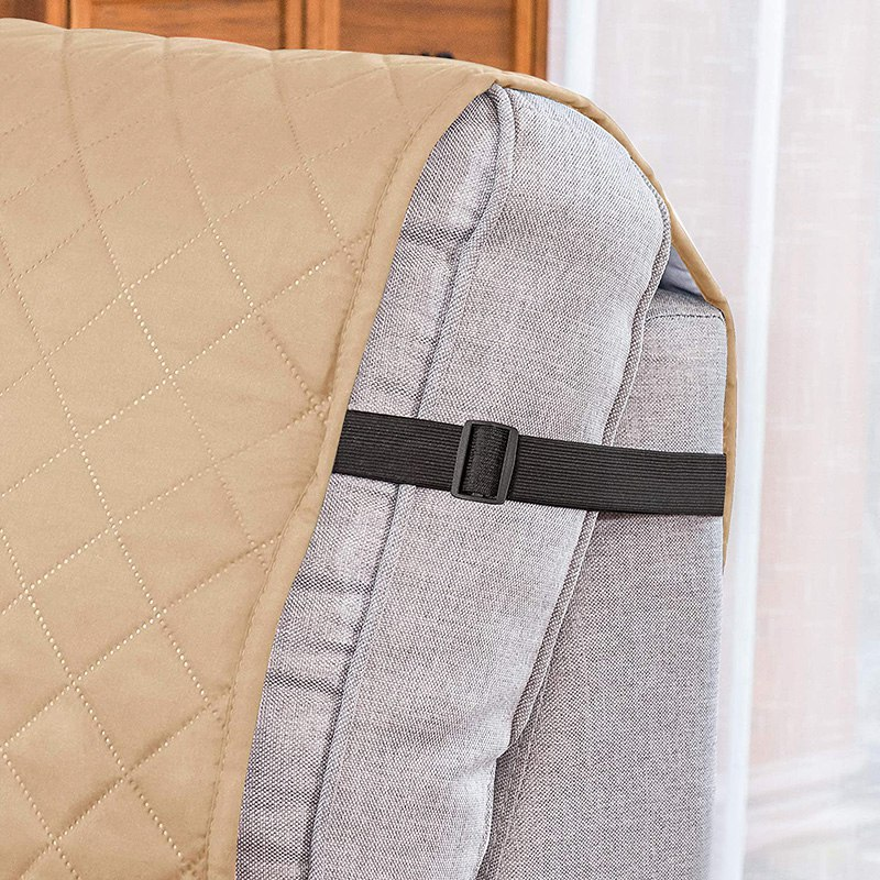 Recliner Sofa Covers Removable Towel Recliner Couch Cover With Pockets Sofa Cushion Anti Slip Pets Dogs