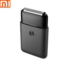 "Xiaomi mijia elektrische rasierer Kolben doppel kopf ""neue produkt heißer"" ultra dünne tragbare/doppel cutter kopf/körper waschen"