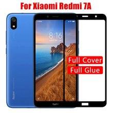 2pcs Für Xiaomi Redmi 7A xiomi redmi7a Schutz Glas Display-schutz auf xaomi Ksiomi redmi 7a Volle Abdeckung Gehärtetem glas