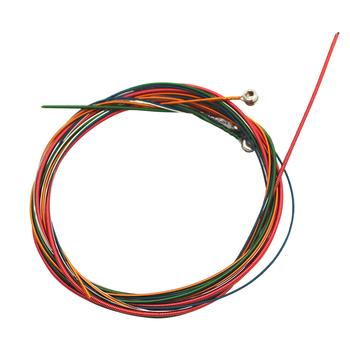 6 12 sztuk zestaw struna gitarowa s kolorowe struna gitarowa E-A do akustycznego Folk gitara klasyczna części akcesoria tanie i dobre opinie CN (pochodzenie)