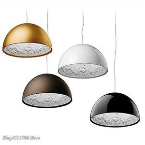 Image 5 - Lampe suspendue en résine, design pendentif Led, design nordique moderne, luminaire décoratif dintérieur, idéal pour un jardin, une salle à manger, un salon ou une chambre à coucher, pendentif Led