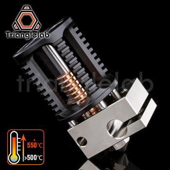 Trianglelab Dragon Hotend super precyzja drukarka 3D głowica wytłaczająca kompatybilna z adapterem Hotend i komara V6 tanie i dobre opinie DFORCE Gorący Koniec