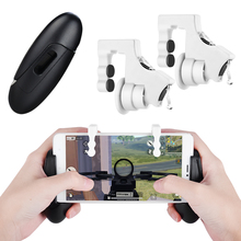 Qosea Smart Phone Mobile Gaming Trigger for PUBG Gamepads Game Fire Joystick Button Aim Key Shooting Controller pad