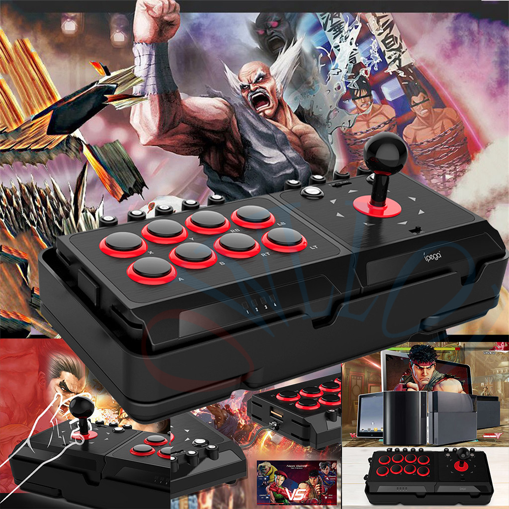 IPEGA 9059 Video Game Controller Arcade Joystick Gamepad for PS3 PS4/PC/Android For Nintendo Switch Game Console - 6