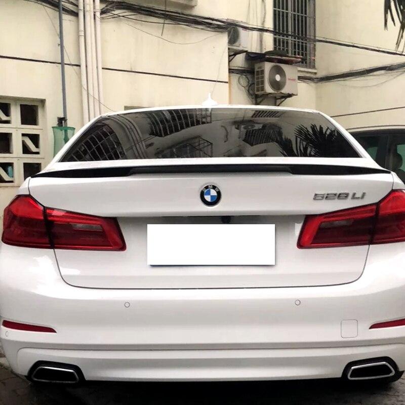 Nouveau design pour BMW M5 520 525 528 535 F10 2017 2018 5 style aileron de coffre arrière matériau ABS de haute qualité par peinture d'apprêt ou bricolage