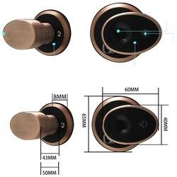 Inteligentny biologiczny zamek do drzwi z czytnikiem linii papilarnych dostęp bezkluczykowy elektroniczny zamek do drzwi Cylinder blokada drzwi wewnętrzne na zewnątrz wodoodporny Sta
