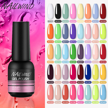 Nailwind Nail Polish 8ml Gel Varnish Paint Semi Permanent Nails Art Gel Nail Polish For Manicure Set Gellak Top Coat Gel Polish 1