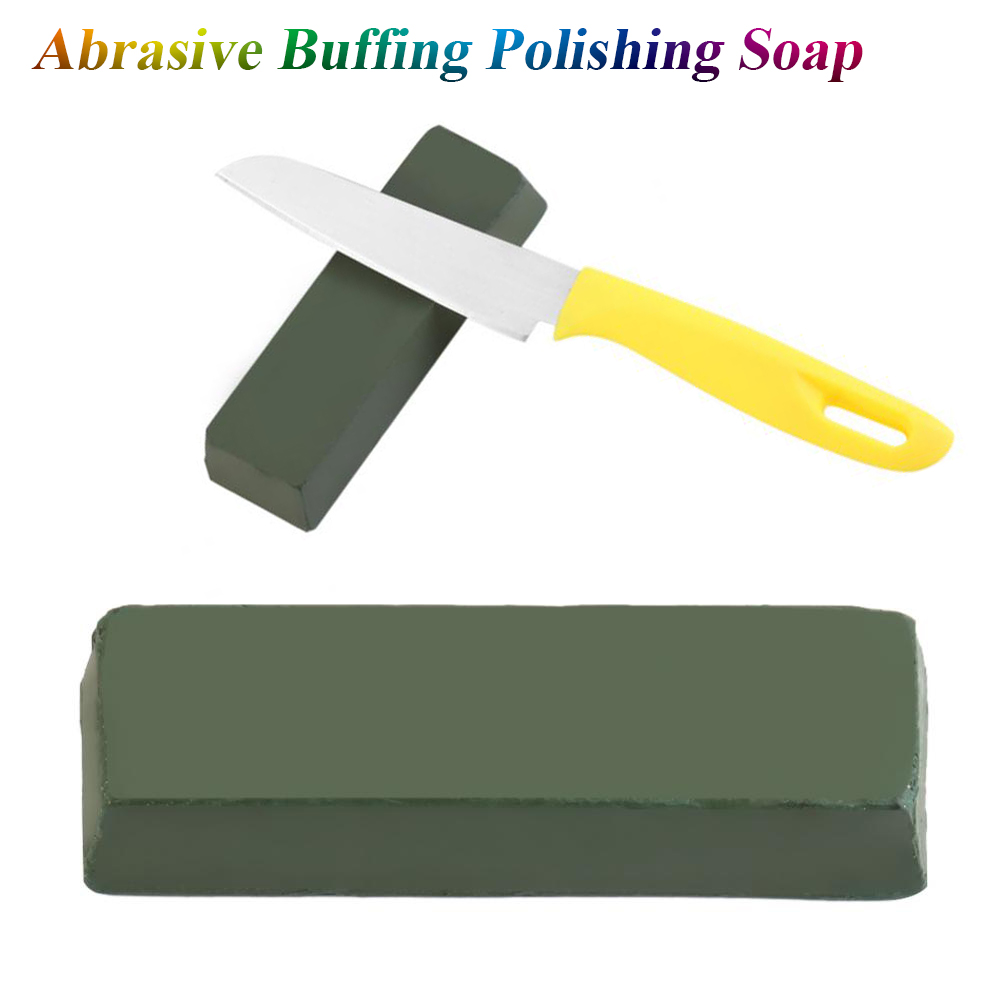 1Pc 112X35X25mm Professional Abrasive Polishing Paste Buffing Compound Metal Grinding Tool 140g Sharpening Polishing Paste