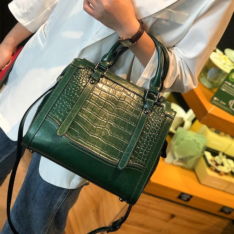 crocodilo bolsas de luxo feminina designer crossbody
