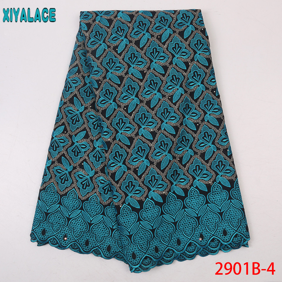 New Nigerian Lace Fabric African Dry Lace Fabric 2019 High Quality Lace With Design Hollow Out KS2901B-4